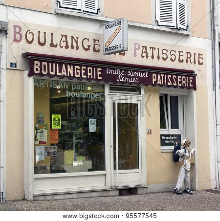 Bakery And Pastry In Avignon France
