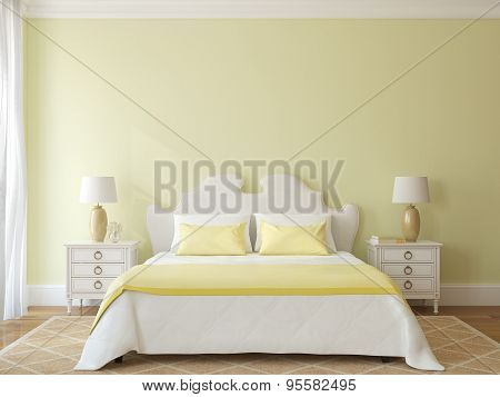 Bedroom Interior.