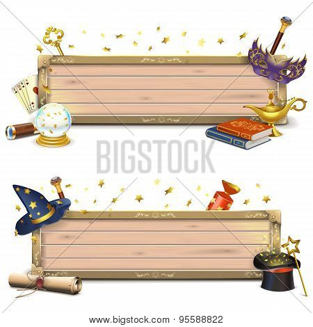 Vector Magic Signboards