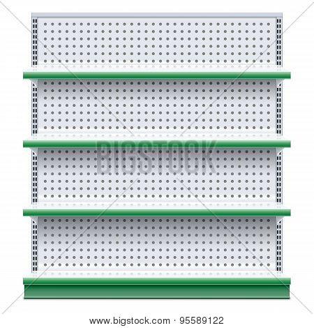 Vector Supermarket Rack