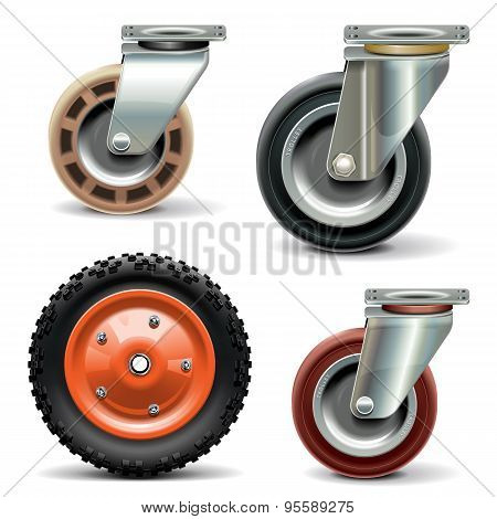 Vector Trolley Wheel