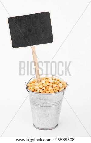 Pointer, Price In Bucket Of  Peas Grains