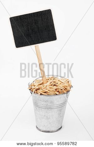Pointer, Price In Bucket Of  Oats  Grains