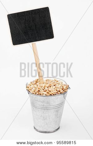Pointer, Price In Bucket Of  Pearl Barley Grains