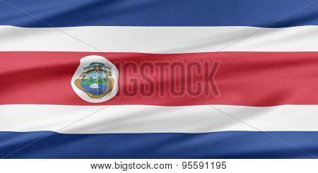 Costa Rica  Flag.