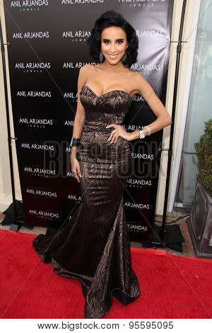 vLOS ANGELES - JUL 1:  Lilly Ghallachi at the Anil Arjandas Jewels Store Opening at the Anil Arjandas Jewels on July 1, 2015 in West Hollywood, CA