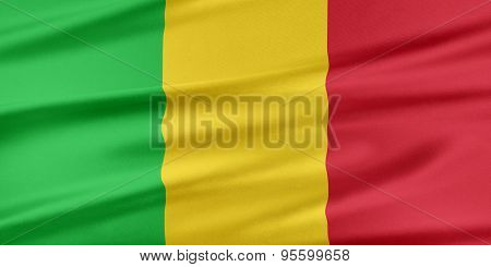 Mali Flag.