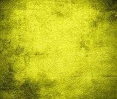stock photo of daffodils  - Grunge background of daffodil leather texture for design - JPG
