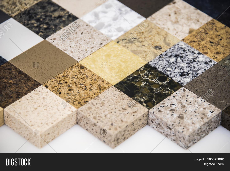 Modern luxury kitchen granite image photo bigstock for Type of quartz countertops