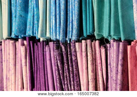 Details Of The Fabrics With Glittering Inserts For Sale In The E