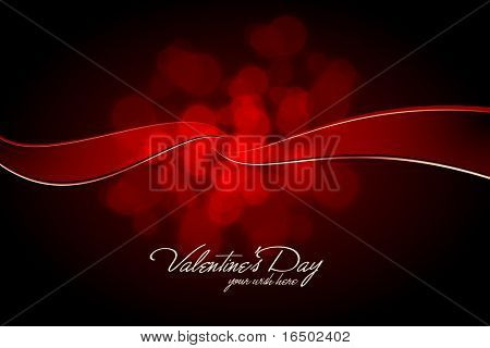 Valentine's Day Connection - Vector Card Design