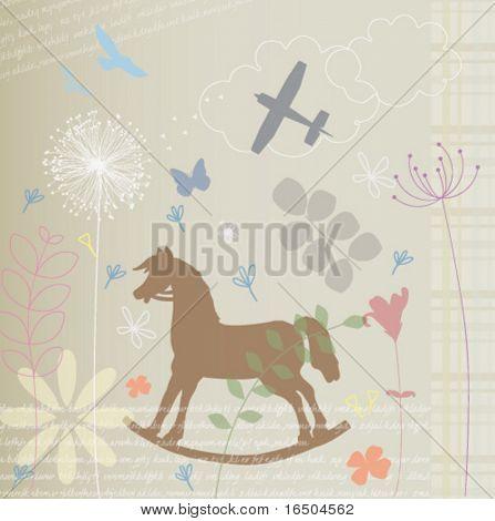 Rocking Swing Horse