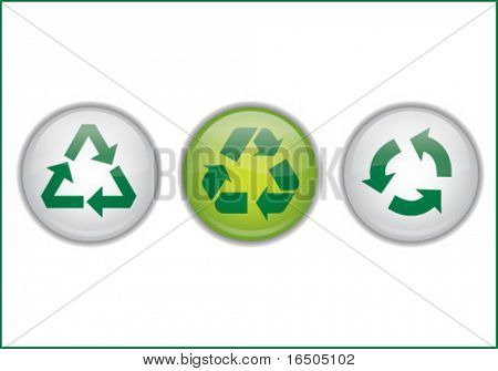 recycling buttons