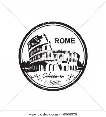 rome stamp