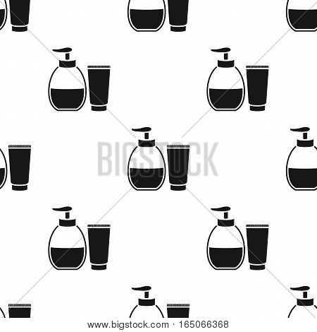 Tube with gel icon black. Single tattoo icon from the big studio black. - stock vector