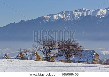 Rural Winter Scenery