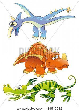 Monstros dinossauros