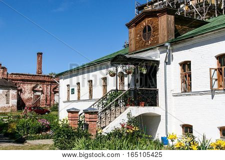 Building on the territory of the Monastery of Deposition of the Robe, Russia, Suzdal