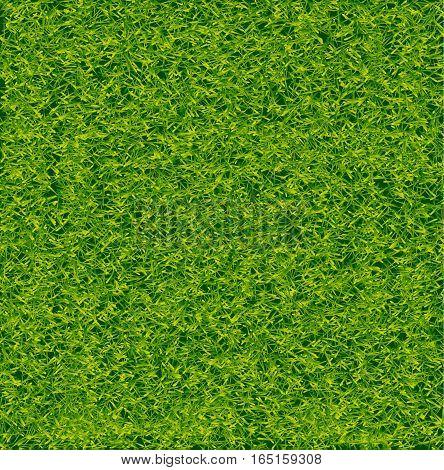 Green Soccer Grass Field Vector EPS 10