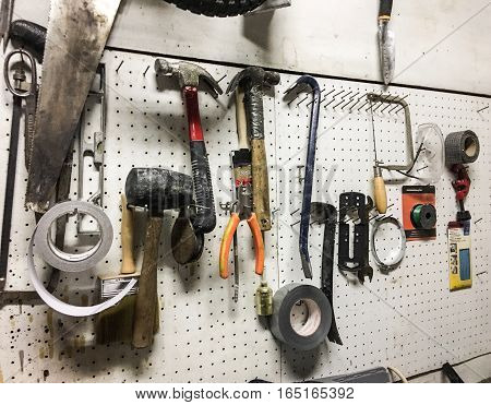 DIY Organizing tools in home for hoem improvement, repairs or renovation