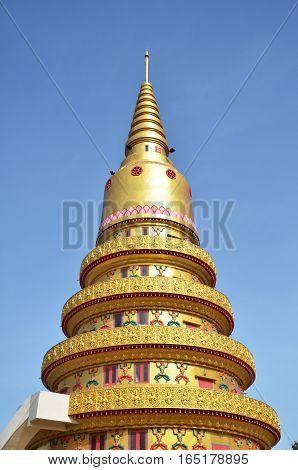 Thai Temple Wat Chayamangkalaram In Penang