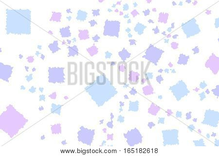 Abstract Background With Random Squares. Pattern For Travel Concept.