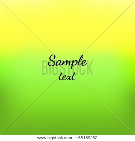 Abstract colorful background made in vector. Smooth Gradient.