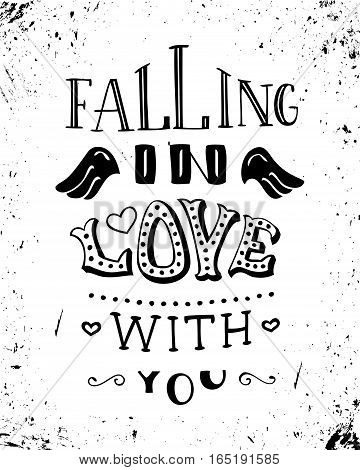 Falling In Love With You.