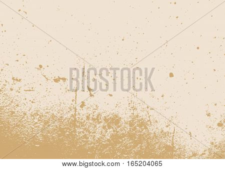Brown grungy background with scratches and dust. Grunge texture.