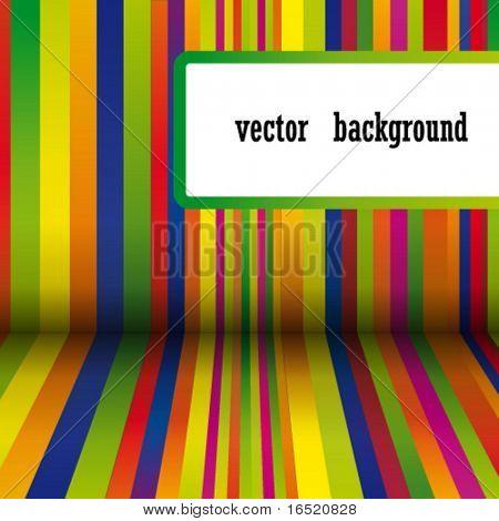 Vektor-bunte Streifen-Hintergrund