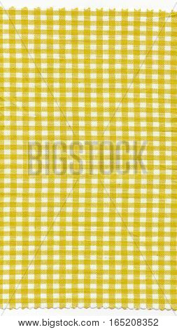 Yellow Fabric - Vertical
