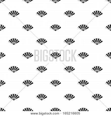 Japanese fan pattern. Simple illustration of japanese fan vector pattern for web