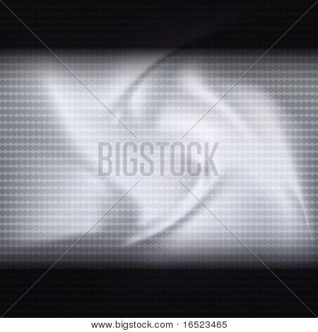 Vector mosaic tech background.