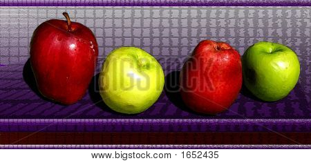 Coloufull Apples