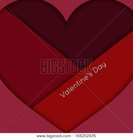 Valentines Day Heart Abstract Background 10 eps