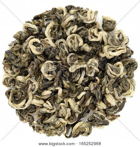Yunnan Bi Lo Chun Green Snail Spring green tea macro