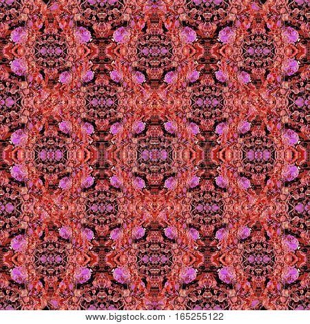 Modern Colorful Boho Chic Seamless Pattern