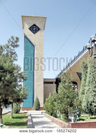 Passenger Depot in Samarkand Uzbekistan September 19 2007