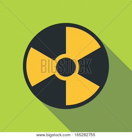 Radiation icon. Flat illustration of radiation vector icon for web