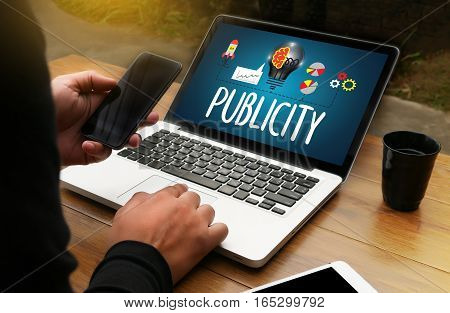 PUBLICITY Online Marketing Advertisement Social Media  accommodation