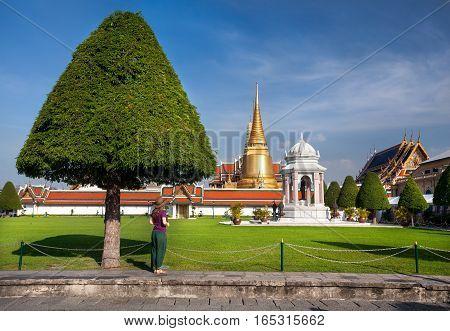 Big Golden Temple In Bangkok