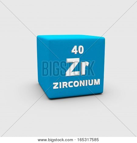 Zirconium is a chemical element with symbol Zr and atomic number 40.