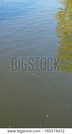 Blue Water Background - Vertical