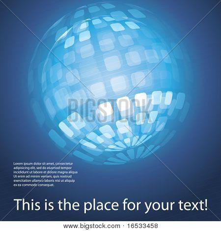 Globus-Design-Vektor