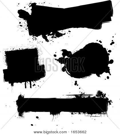Four Ink Splat