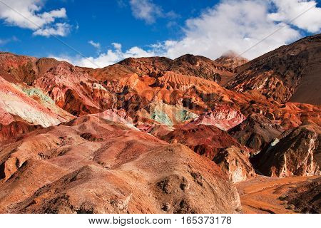 Death valley is one of the hottest regions on Earth with temperatures soaring past 135 degrees fahrenheit.