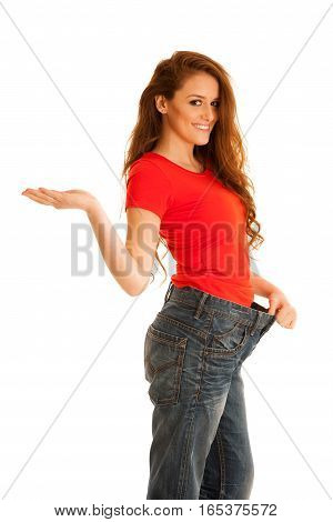 Woman Lost Weight And Her Trousers Are Too Big - Healthy Lifestyle