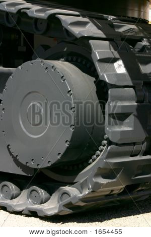 Part Of A Heavy Machine