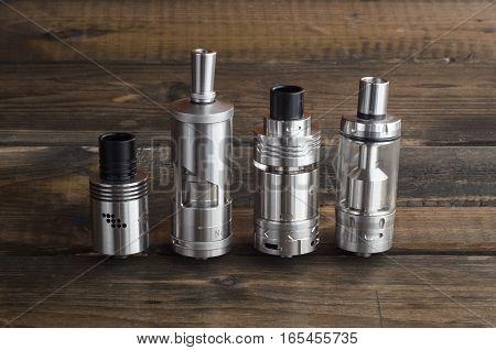 Adjustable electronic cigarette, Non carcinogenic alternative for smoking, vape