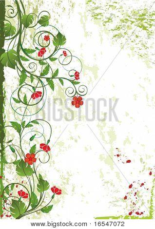 floral design card